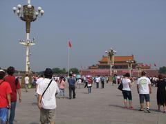 北京では、有名なこの場所を訪問!