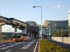 まだ出来たての、羽田空港国際線ビル駅