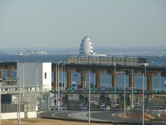 海ほたるや、遥か木更津の方まで見えます!