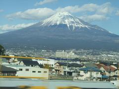 新幹線から撮る富士山は、意外にも難しいです