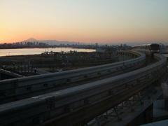 モノレールの駅の方は、このように眺めが抜群!