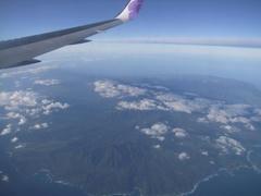カウアイ島上空!
