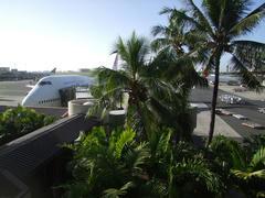 ハワイと、日本航空のジャンボの組み合わせが見られるのも、今回で最後か…