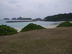 川井ダイビングの裏の風景