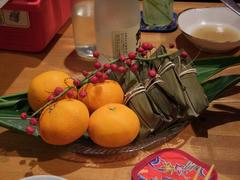 果物とムーチーにも舌鼓を打ち…