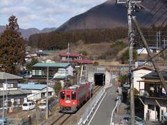 会津鉄道からの乗り入れ列車