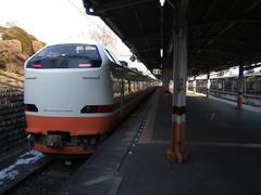 "JR485系改造車を用いた特急""日光""号"