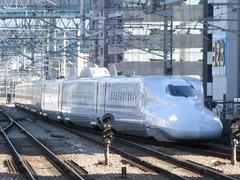 乗ってきました!…博多駅にて