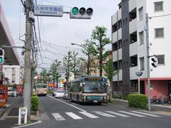 吉祥寺駅~成増駅系統のバスは、約20分間隔の運転