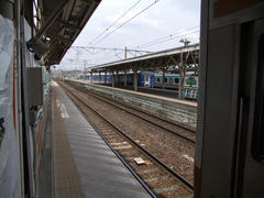 黒磯駅にて…普通列車は、必ず乗り換えが必要になる駅です