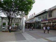普段の感じに見えた、福島駅前