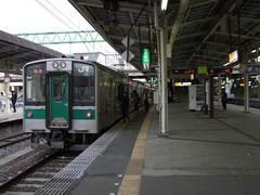 仙台駅に到着!