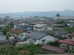 福島付近の街並みの様子