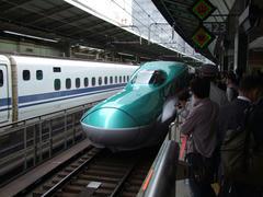 東海道新幹線との顔合わせ!