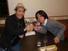 永井は結局この日、ノンアルコールで通しました(笑)