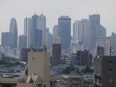 新宿副都心もよく見えます♪