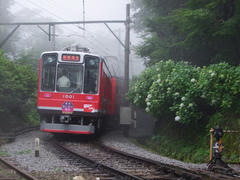 宮ノ下駅付近