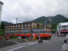 早雲山を望みつつ、強羅駅に到着