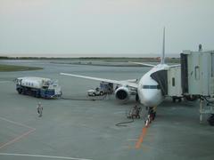 那覇空港に到着!