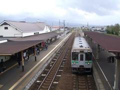 伊達紋別駅に到着!