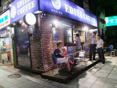 カフェが沢山ある韓国