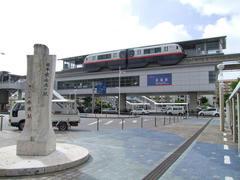 やっと巡り合えた、日本最南端駅の記念碑