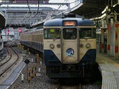そして、外房線の勝浦駅行きに!