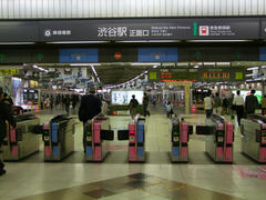 頭端式の渋谷駅