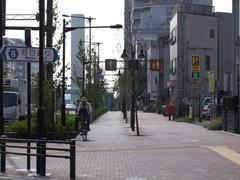 山手通りは、自転車用のスペースを設けてあるので、非常に走りやすくなっています