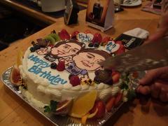 そしてケーキの運命…(笑)