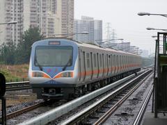 北京地鉄(地下鉄)13号線です