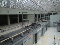 直通列車用の、仁川空港駅ホーム