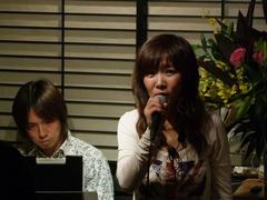 この日は歌う事が多かった加地直子さん