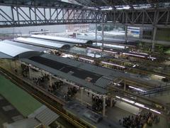 上から駅全体を見ると、こんな感じです
