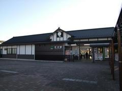 吾妻線の起点、渋川駅