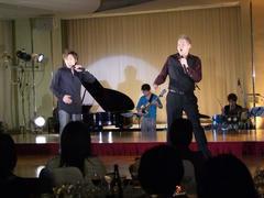 歌声も披露してくれた、KOJU さんと ASUKA さん
