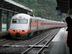 台湾国鉄の在来線の花型特急、自強号
