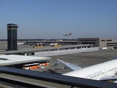成田空港第2ターミナルの風景