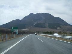 由布岳が見えてくると、九重町も近いです