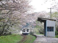 浦ノ崎駅にて