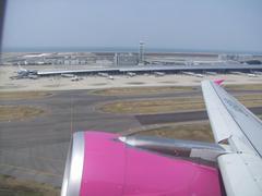 関西空港を離陸!