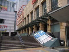 JR黒崎駅から、筑豊電鉄黒崎駅前駅への道のり
