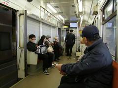 運転士も車掌も乗務する、筑豊電鉄の車内風景