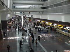 混雑はまだピークではなかった羽田空港