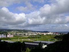 向陽高校周辺の風景