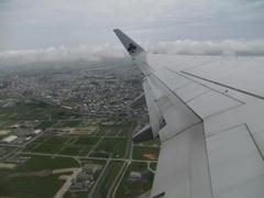 那覇空港、離陸!