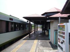 明覚駅…関東の駅100選の駅でもあります