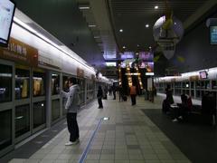 空港からは、MRTで台北駅へと向かいましょう!