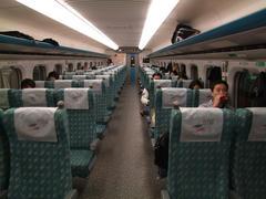 車内も、日本の700系にそっくり!