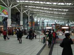 左榮駅に到着!